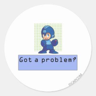 Got a Problem? Classic Round Sticker