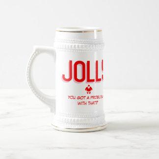 Got a Problem With Jolly? Christmas mug
