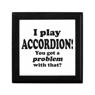 Got A Problem With That,  Accordion Gift Box