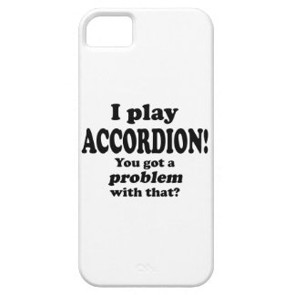 Got A Problem With That,  Accordion iPhone SE/5/5s Case