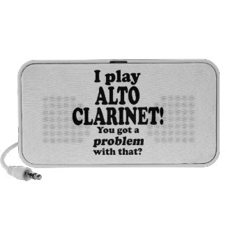 Got A Problem With That Alto Clarinet Laptop Speakers