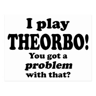 Got A Problem With That, Theorbo Post Cards