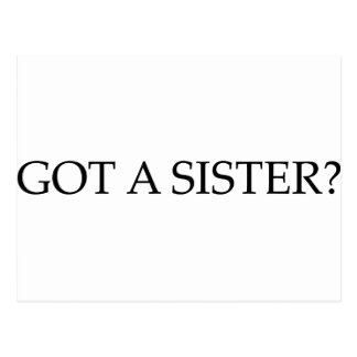 Got A Sister Postcard