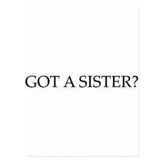 Got A Sister Postcards