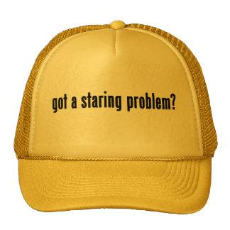 got a staring problem? trucker hat