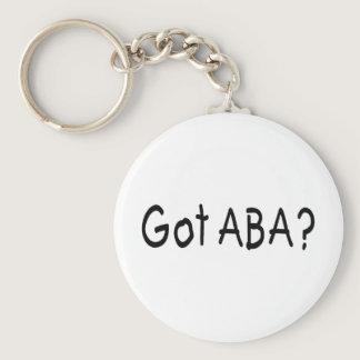 Got ABA Autism Keychain