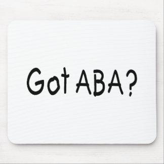Got ABA (Blk Mouse Pad