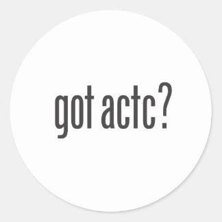 "got actc? 1.5"" Sticker Set 20 pcs."
