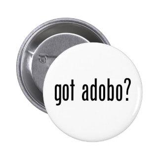 Got Adobo 2 Inch Round Button