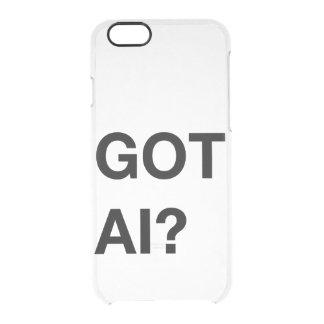 Got AI? iPhone Case