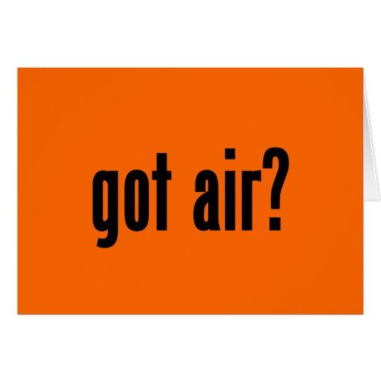 got air? card