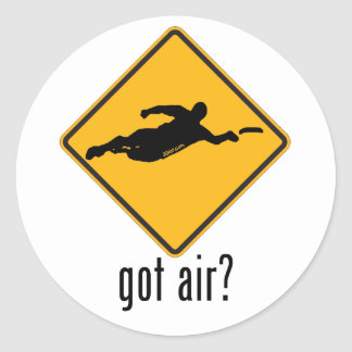 Got Air? Classic Round Sticker