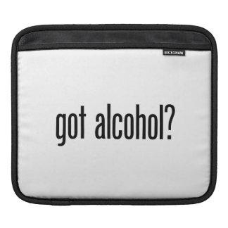 got alcohol iPad sleeve