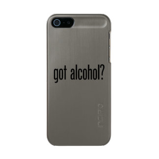 got alcohol metallic phone case for iPhone SE/5/5s