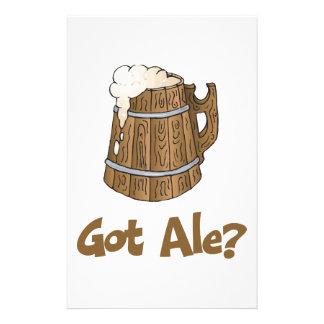 Got Ale? Custom Stationery