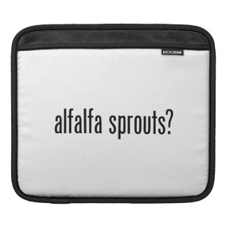 got alfalfa sprouts sleeve for iPads