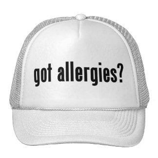 got allergies mesh hat