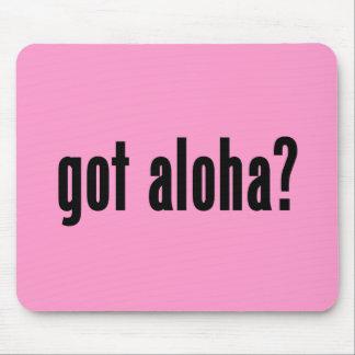 got aloha? mouse pad