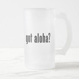 got aloha? coffee mugs