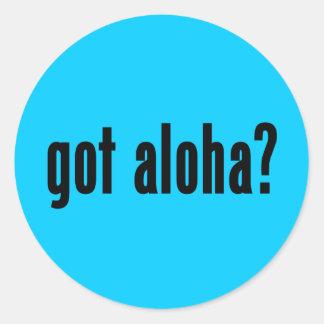 got aloha? sticker