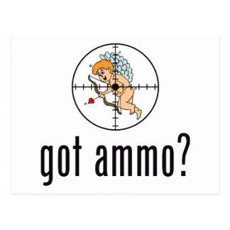 got ammo? (Anti-Valentine's Day) Postcard