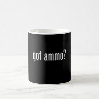 got ammo? classic white coffee mug