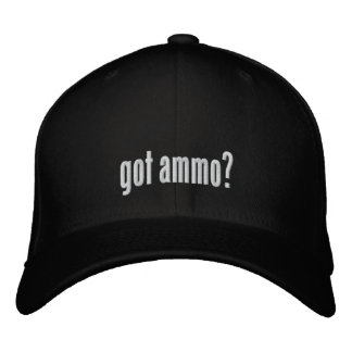 Got ammo embroidered baseball cap