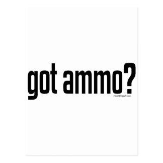 Got Ammo? Postcard
