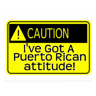 got an attitude 1 postcard