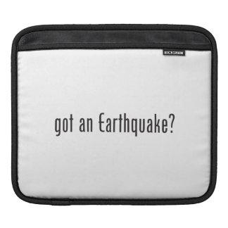 got an earthquake.ai iPad sleeve