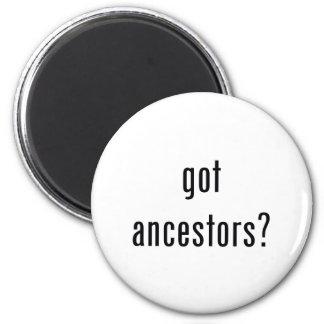 got ancestors? 2 inch round magnet