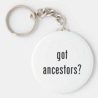 got ancestors? basic round button keychain