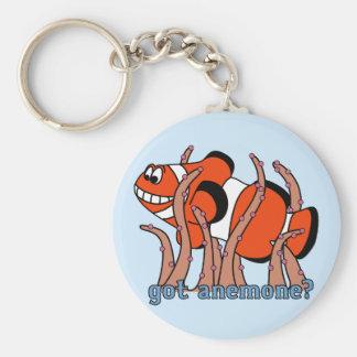 Got Anemone Clownfish Keychain