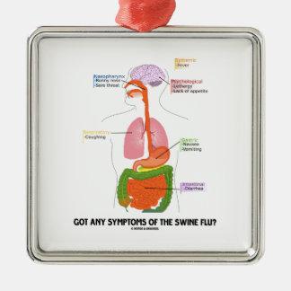Got Any Symptoms Of The Swine Flu? (Anatomy) Ornament