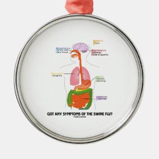Got Any Symptoms Of The Swine Flu? (Anatomy) Ornaments