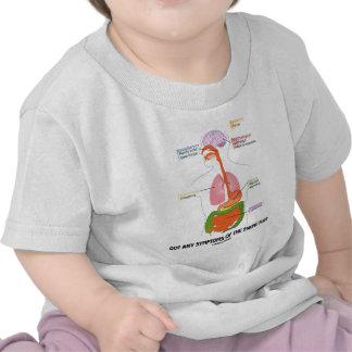 Got Any Symptoms Of The Swine Flu? (Anatomy) T-shirts