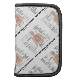Got Any Viral Infections? Medical Anatomical Humor Planner