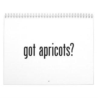 got apricots calendar