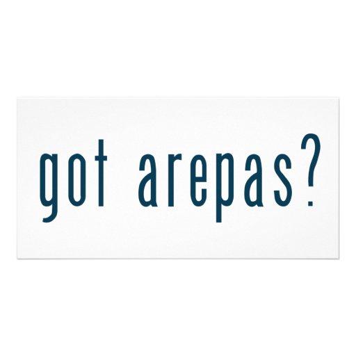 got arepas? photo card template