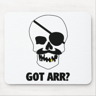 Got Arr? Pirate Skull Mouse Pad