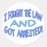 Got Arrested Sticker