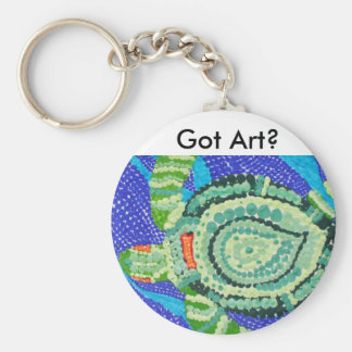 Got Art, Little Turtle with Many Spots Keychain