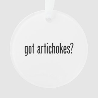 got artichokes