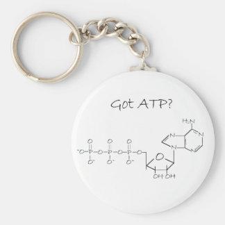 Got ATP? Basic Round Button Keychain