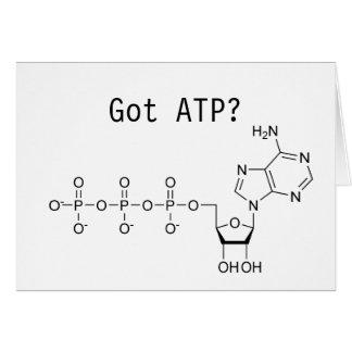 Got ATP? Greeting Card