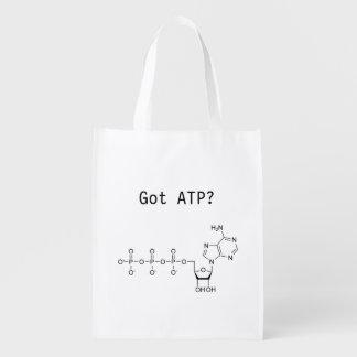 Got ATP? Reusable Bag Reusable Grocery Bag