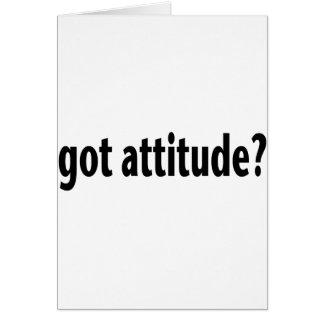 Got Attitude? Card