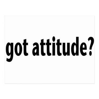 Got Attitude? Postcard