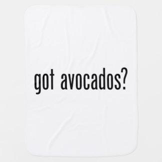 got avocados swaddle blanket