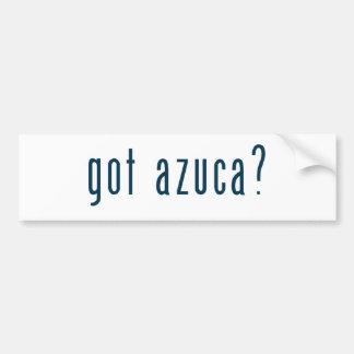 got azuca bumper sticker